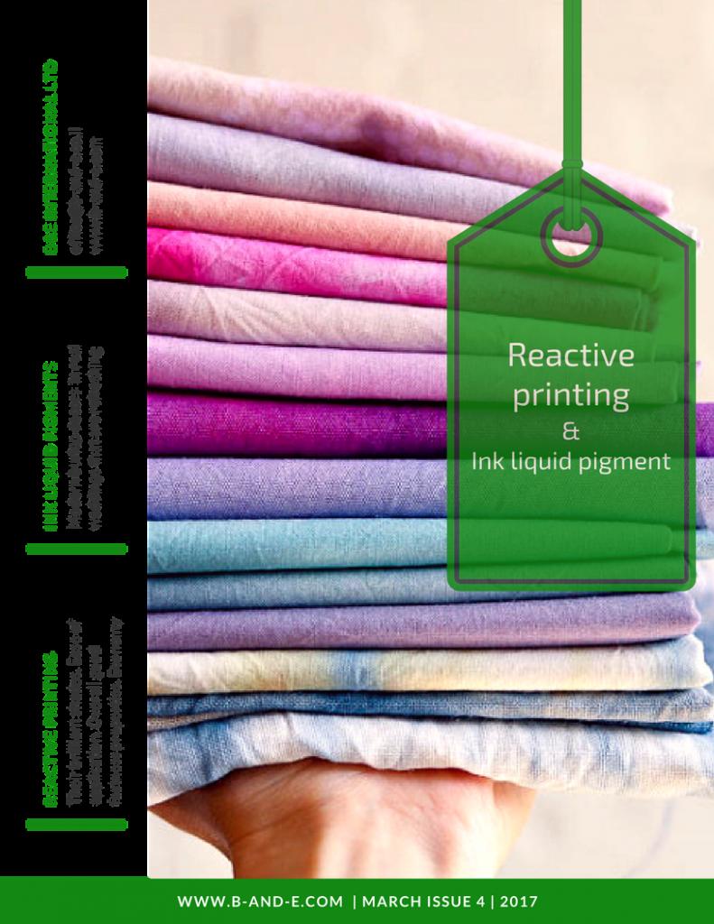 reactive printing, dyestuff